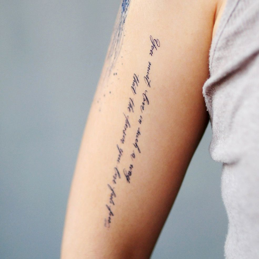 Tattoo Goals Quotes: Relationship Goal Quote.Love Freely Tattoo