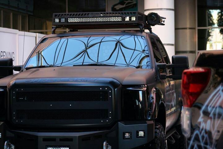 Roof Rack + Light Bar | Truck Stuff | Pinterest