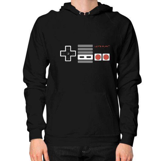 Let's Play Hoodie (on man) Shirt