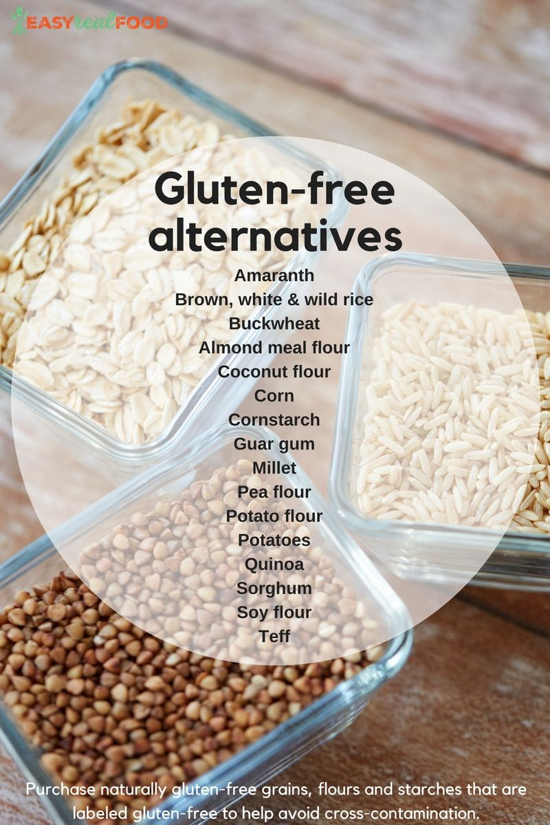 Positive Effects of a Gluten Free Diet | Real food recipes ...