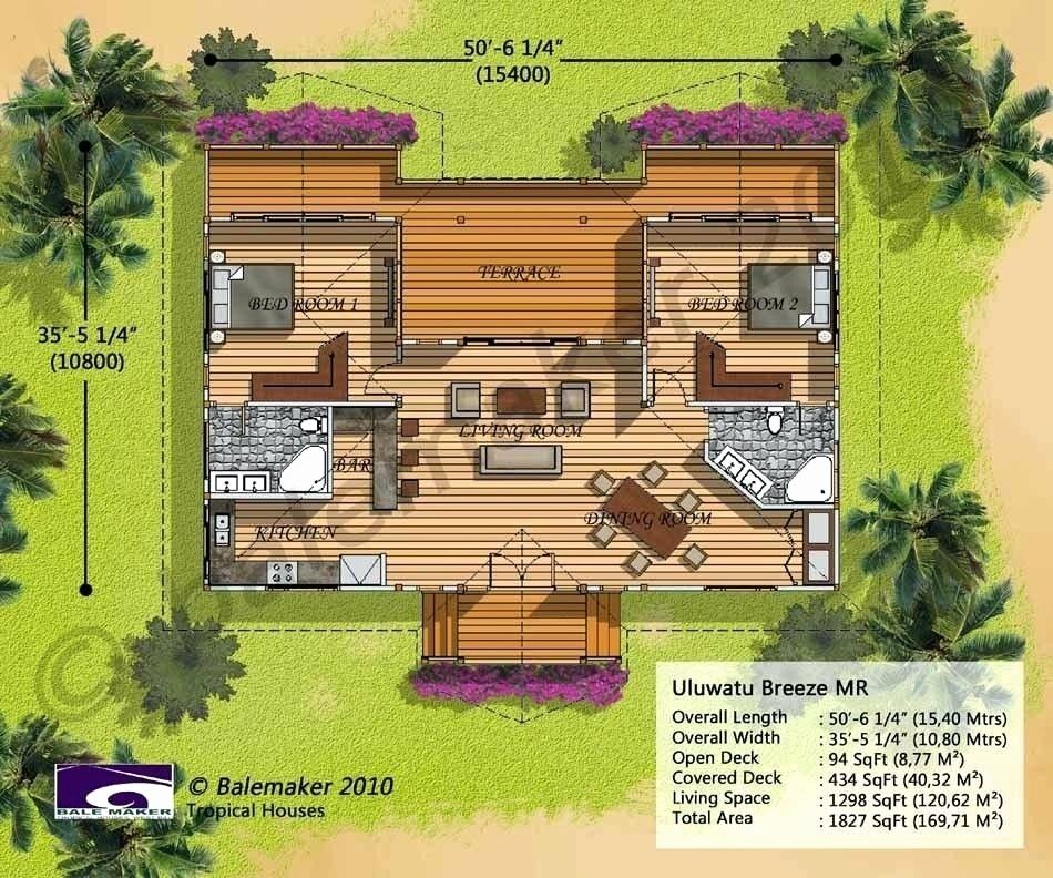 15 Awesome Tropical House Floor Plan House Plans Tropical House Design Hawaiian Homes Beach House Floor Plans