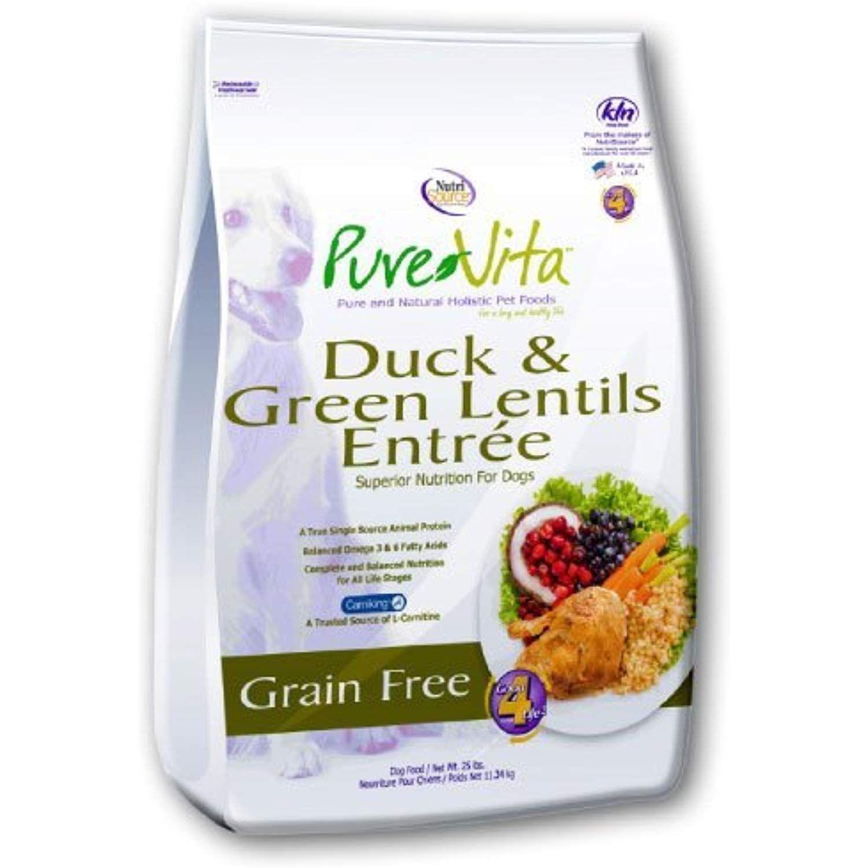 Nutri Source Purevita Grain Free Duck Dog Food 15lb Want To