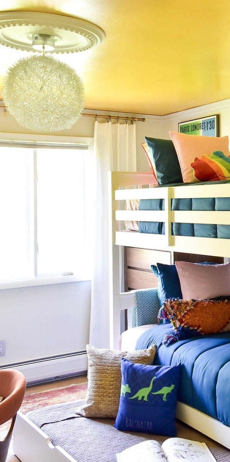 Loft bed with desk jordan's furniture  Jordan TwinOverTwin Bunk Bed w Trundle  DecorationuDIY