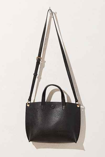 Mini Reversible Vegan Leather Tote Bag - Urban Outfitters 20148c50b