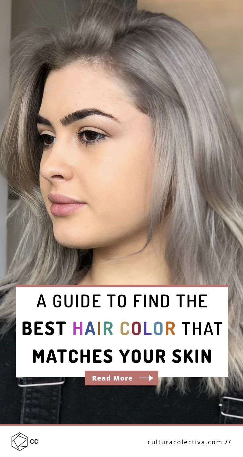 A Guide To Find Out What Hair Color Best Matches Your Skin Tone