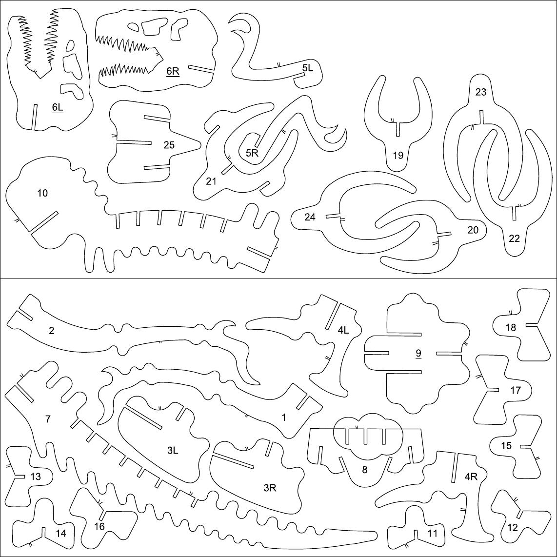 plantilla dinosaurio - Documents | Dinosaurios | Pinterest | 3d ...