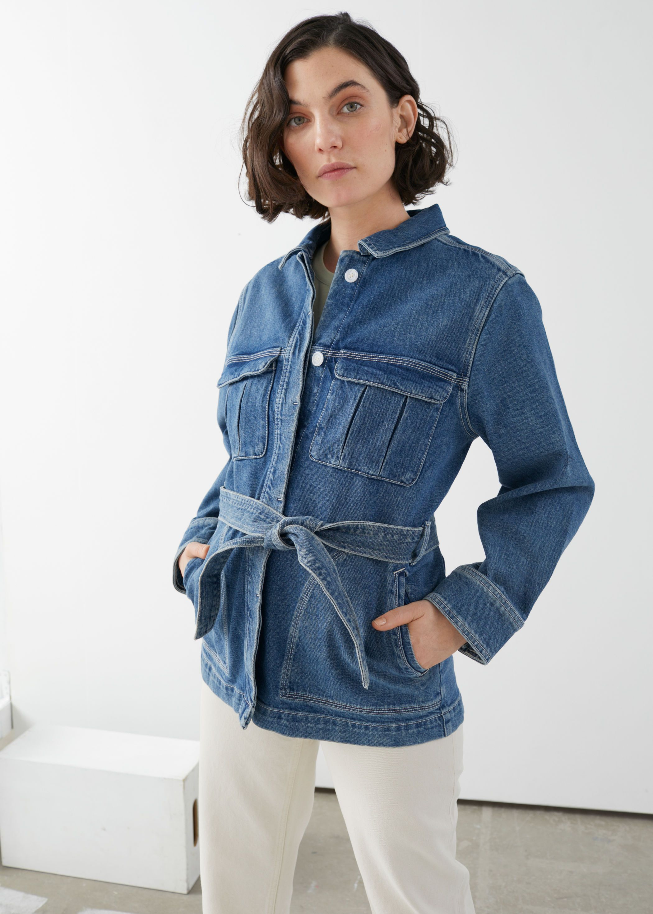 Pdp Oversized Denim Jacket Denim Jacket Women Denim Jacket [ 2940 x 2100 Pixel ]