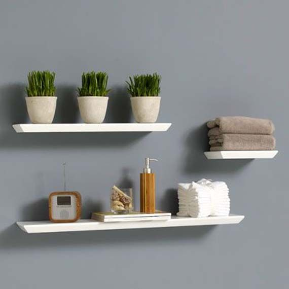 Wall Shelves Design awesome diy wall shelves design ideas White Shelves In Family Room Foating Wall Shelves Design Unique Home Furniture For Any Room