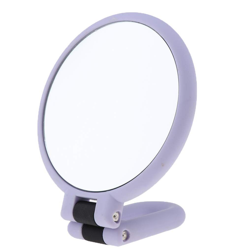 Cuticate Folding Handheld 2sided Magnification Makeup Shaving Mirror 5a A Countertop Standing Hanging Compact Mirror Fo Shaving Mirror Compact Mirror Mirror