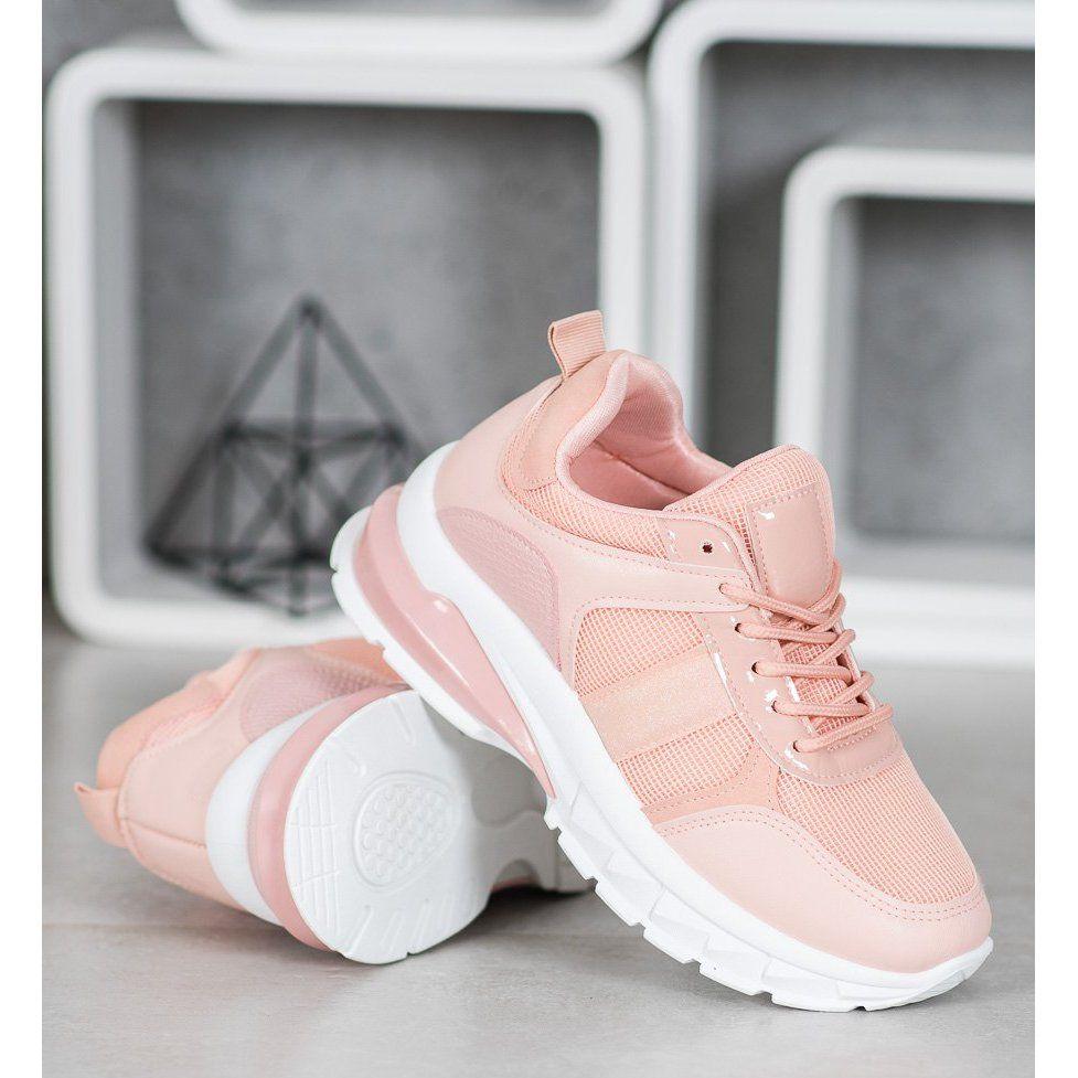Shelovet Stylowe Sneakersy Z Siateczka Rozowe In 2020 Sneakers Nike Air Max Sneakers Sneakers