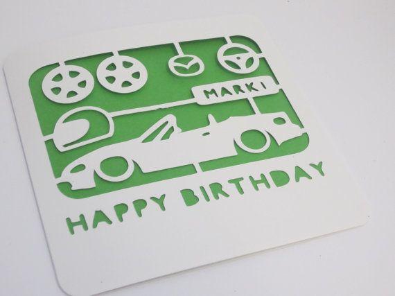 Airfix Birthday Card Car Lovers By PapercutPretties On Etsy