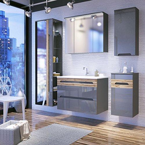 Spiegelschrank Badezimmer 100cm Spiegelschrank Bad Gunstig