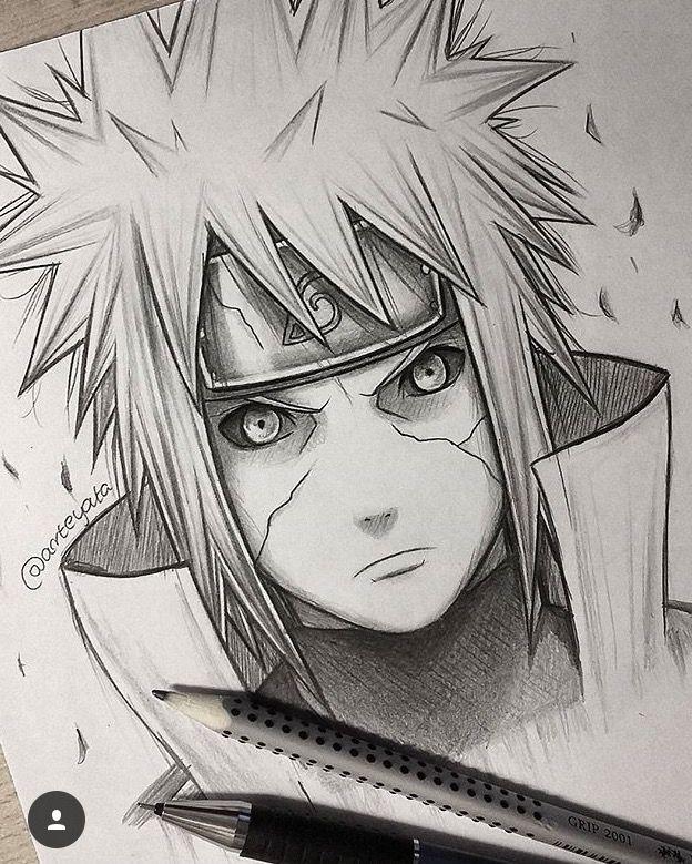 Naruto Drawing Naruto Sketch Naruto Drawings Naruto Minato