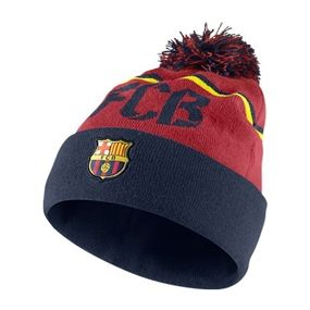 Show off your Barca pride with the Nike FC Barcelona Beanie. Don t cover up  because it is cold ed8113cdf4b