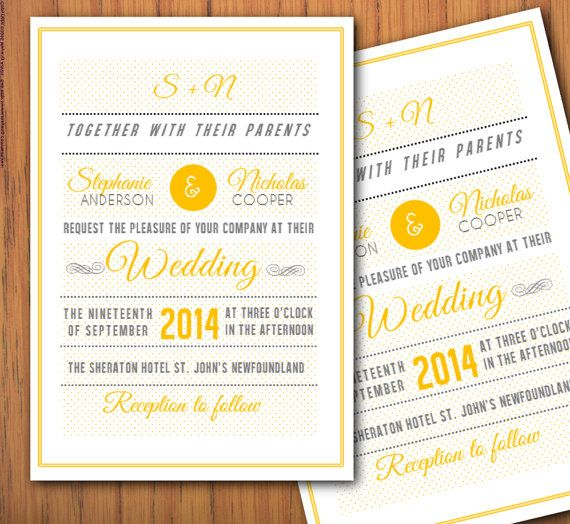 Invitation Template Word Alluring Diy Printable Modern Ms Word Wedding Invitation Template W103  Fine .