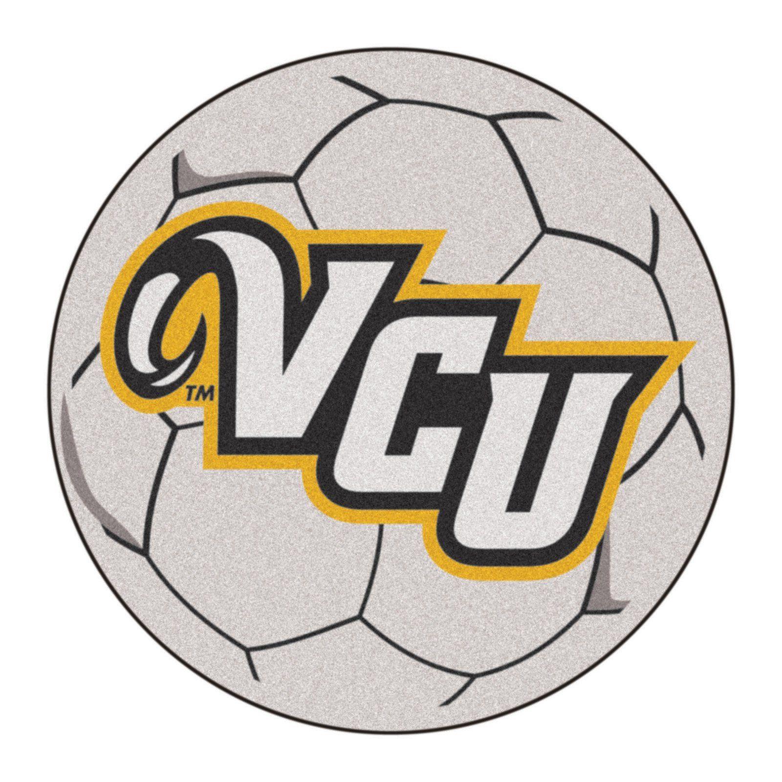 Fan Mats NCAA Collegiate Soccer Ball Rug 2.25 diam. ft