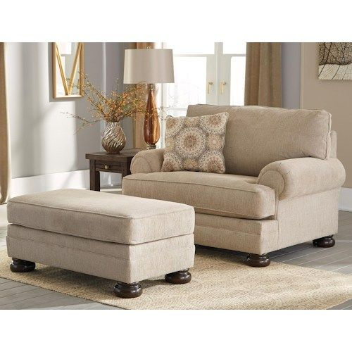Benchcraft Quarry Hill Chair And A Half Ottoman Wayside Furniture Chair Ottoman Living Room Chairs Chair And A Half Chair And Ottoman Set