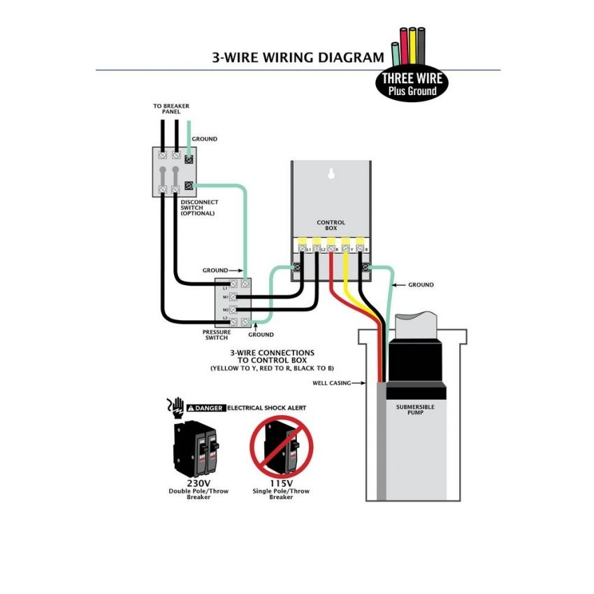 Square D Well Pump Pressure Switch Wiring Diagram