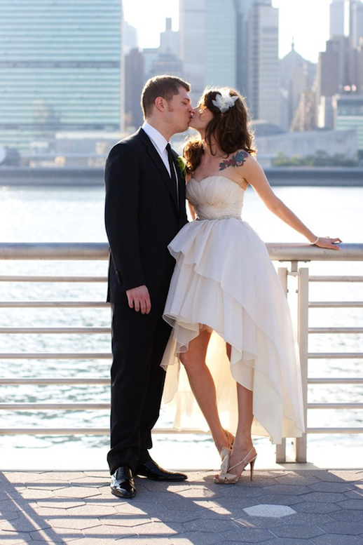 Cute Wedding Dress To Show Off Your Shoes Wedding Dresses High