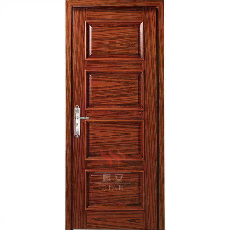 4 Panel Interior Fancy Single Plain Solid Wooden Doors Design Qi An Solid Wood Interior Doors White Wooden Door Design Wood Doors Interior Wood Closet Doors
