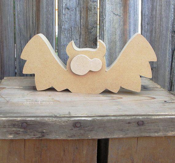 Unfinished Wood Bat Fall