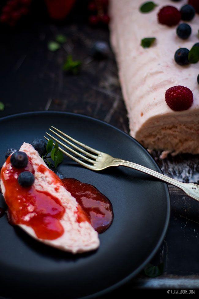 Clavel's Cook: A força da mulher {semi-frio de cereja e amêndoa}