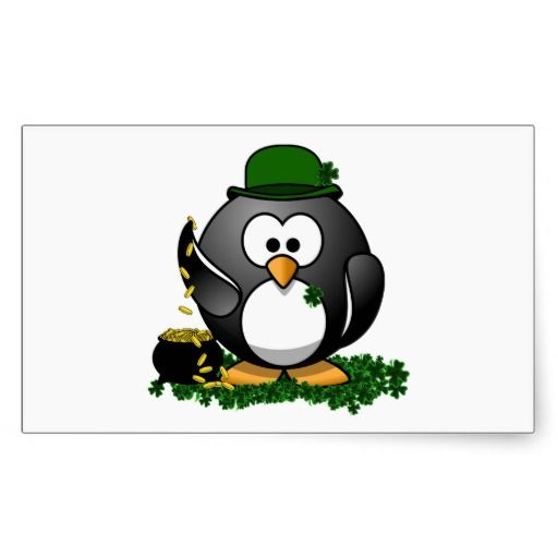 Lucky Penguin with Pot of Gold Rectangular Sticker you will get best price offer lowest prices or diccount couponeDeals          Lucky Penguin with Pot of Gold Rectangular Sticker Review from Associated Store with this Deal...