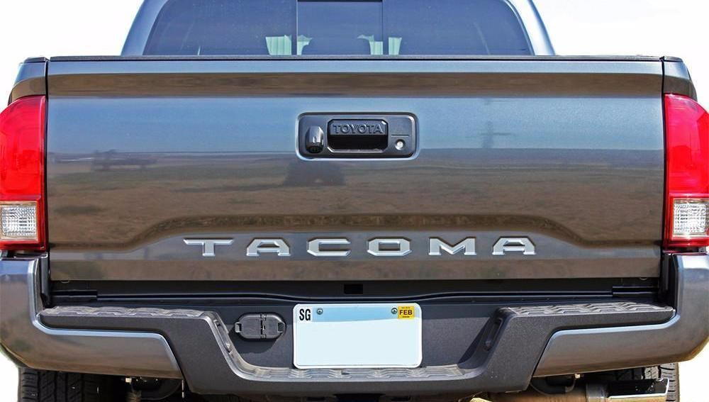 20152020 Toyota TAILGATE LETTERS Rear Bed