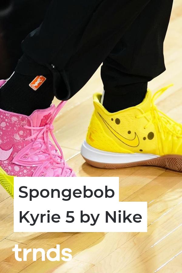 SpongeBob x Nike Kyrie New Sneakers | Sneakers, New sneakers