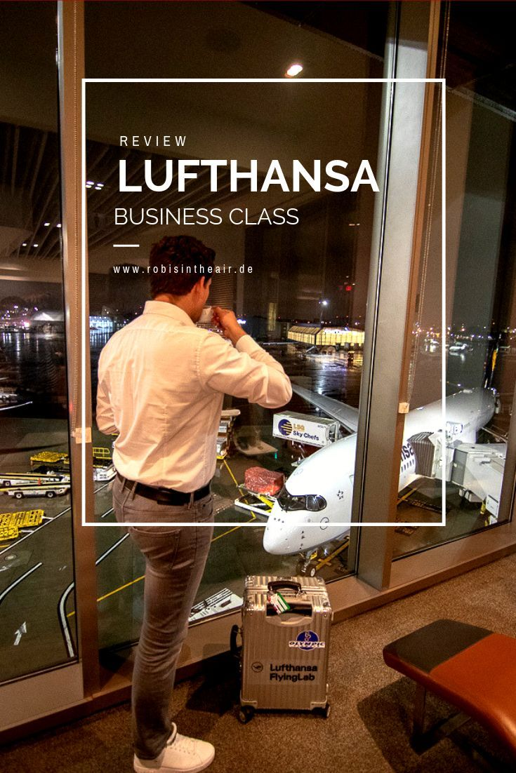 Review Lufthansa Airbus A350 Business Class nach München