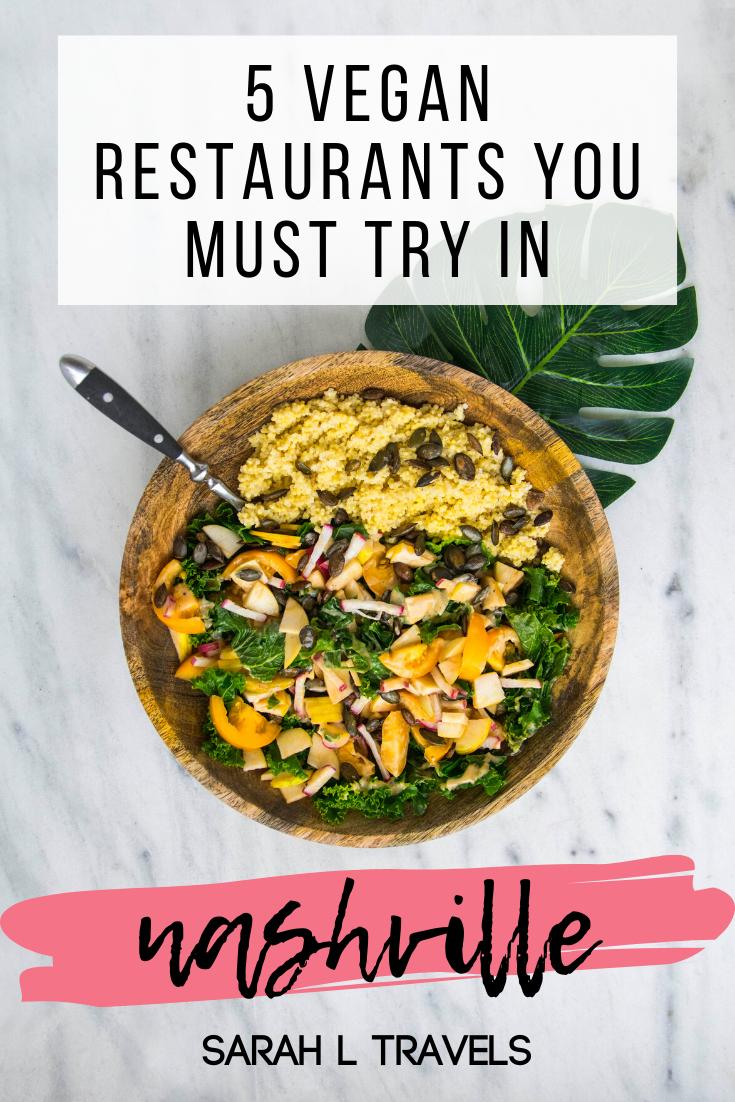 5 Vegan Restaurants Everyone Should Try In Nashville In 2020 Vegan Nutrition Healthy Nutrition Nutrition