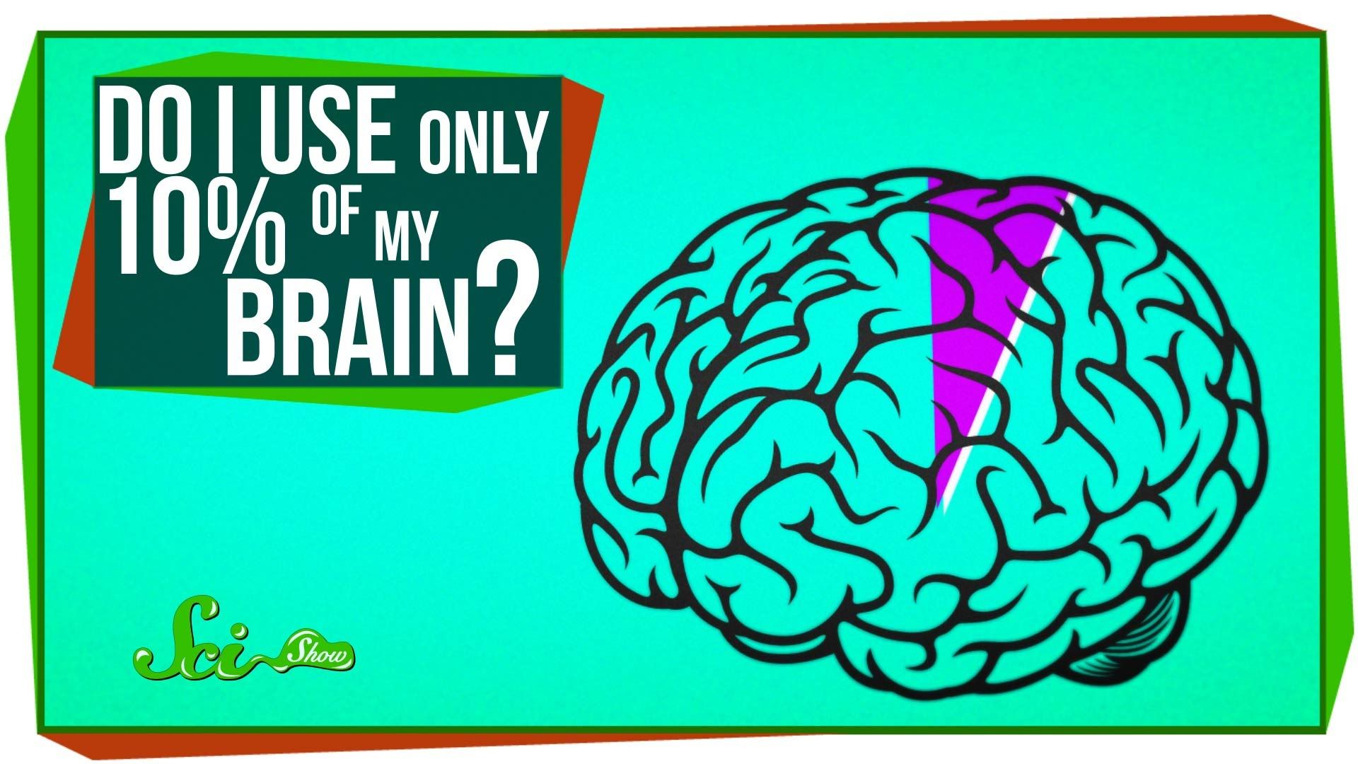 Scishow Debunks The Myth That We Only Use Ten Percent Of