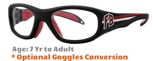aba8528d1ee61 Rec Specs F8 Collegiate Prescription Sports Glasses 51   53 Eye Size -  Suitable for Ages 7 to Adults