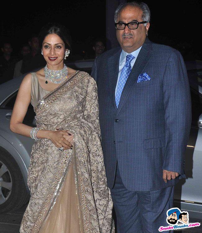 Tulsi Kumar and Hitesh Wedding Reception -- Sridevi and Boney Kapoor Picture # 298919