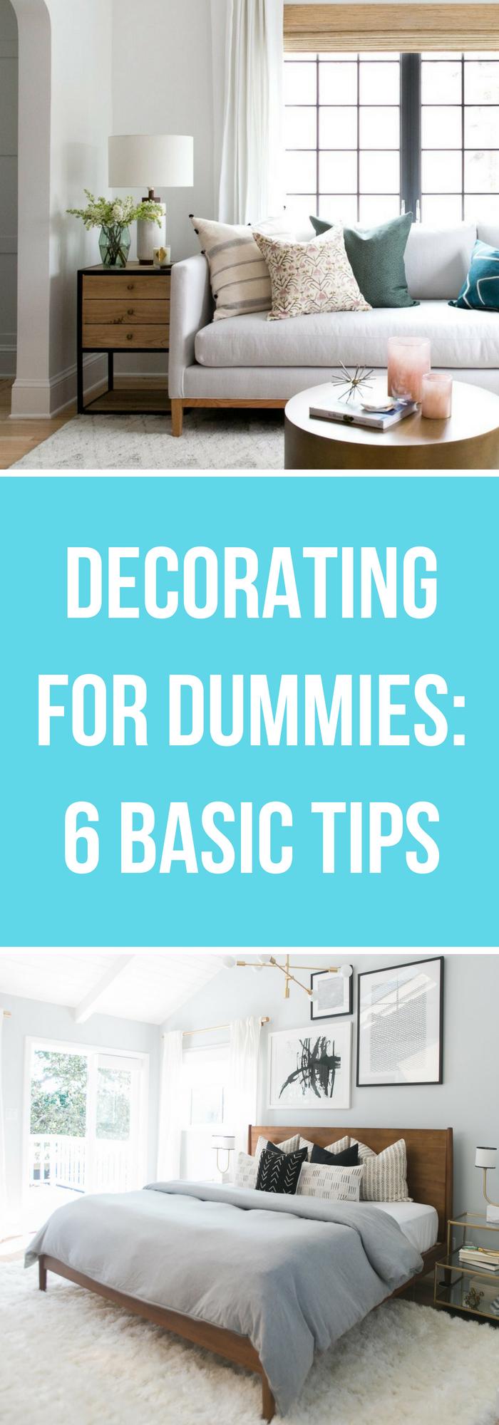 Decorating for dummies basic house tips the organized mom also interior design decor rh pinterest