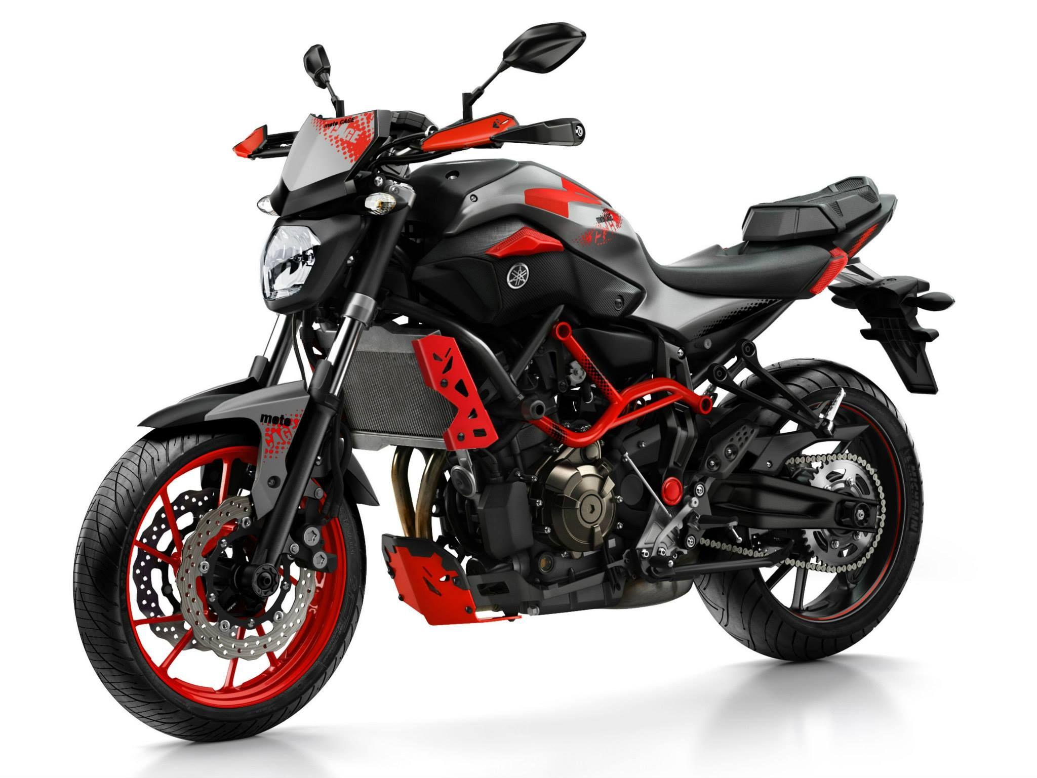 Yamaha Mt 07 Moto Cage Carros Y Motos Motocicletas Y Motos