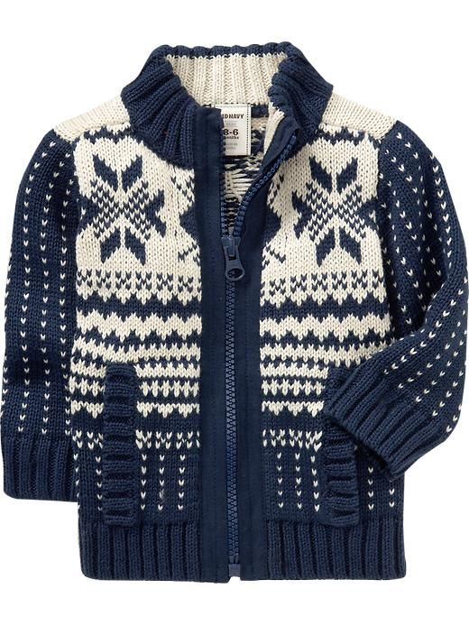 Old Navy | Fair Isle Sweater Jackets for Baby | Brennan Timothy ...