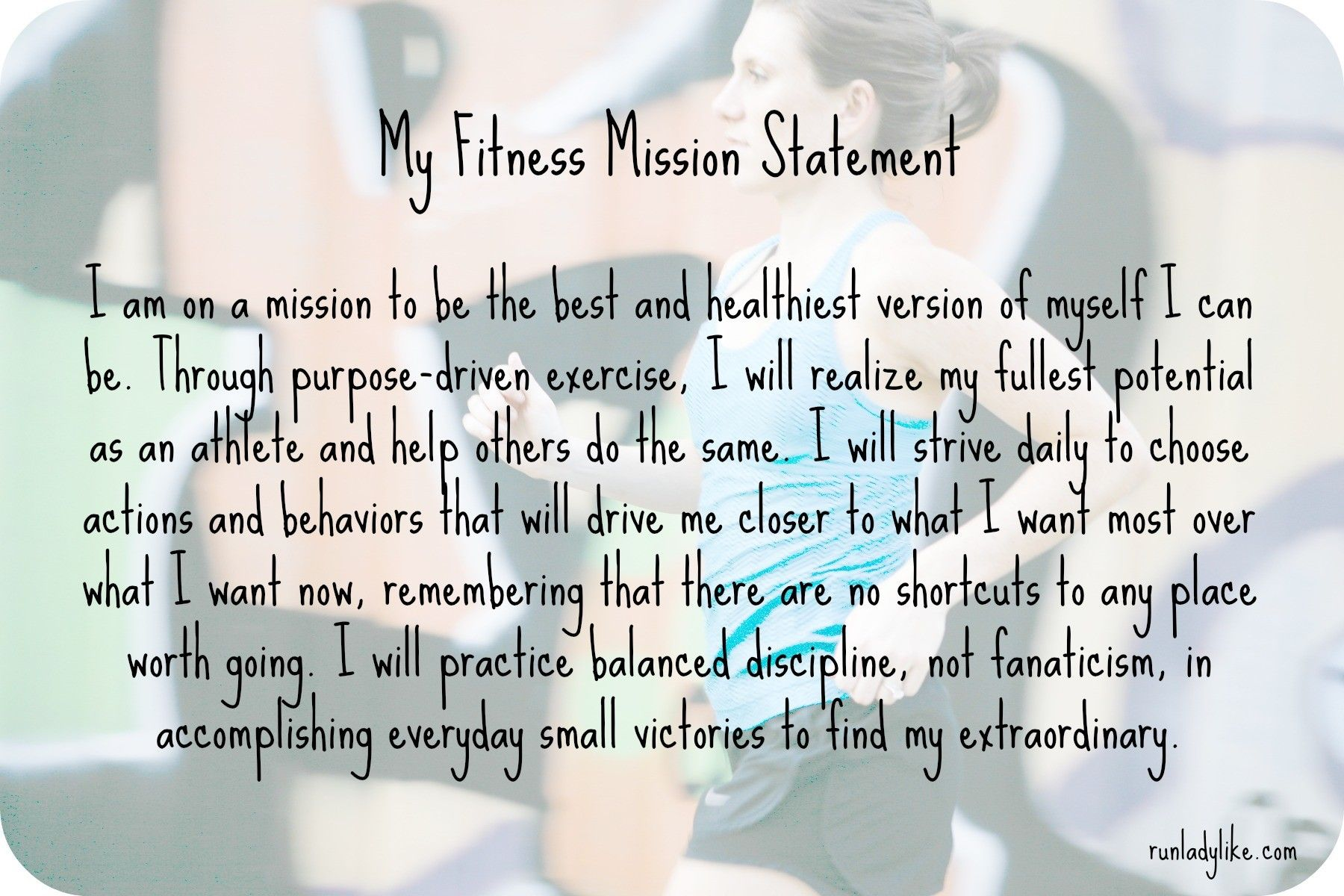 Pin By Sam Dorland On Well Said Personal Mission Statement Mission Statement Lifetime Fitness