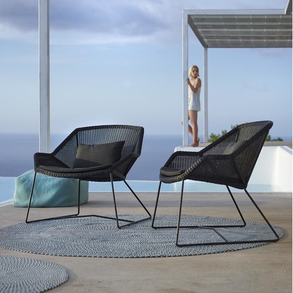 Cane Line Breeze Lounge Chair By Lumens Modern Outdoor