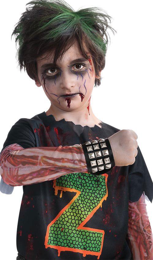 Zombie facepaint Misc Pinterest Chicas