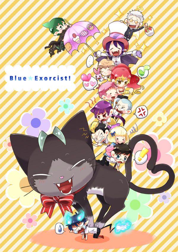 BLUE EXORCIST FAMILY CHIBI by aonoExorcist15.deviantart.com on @deviantART