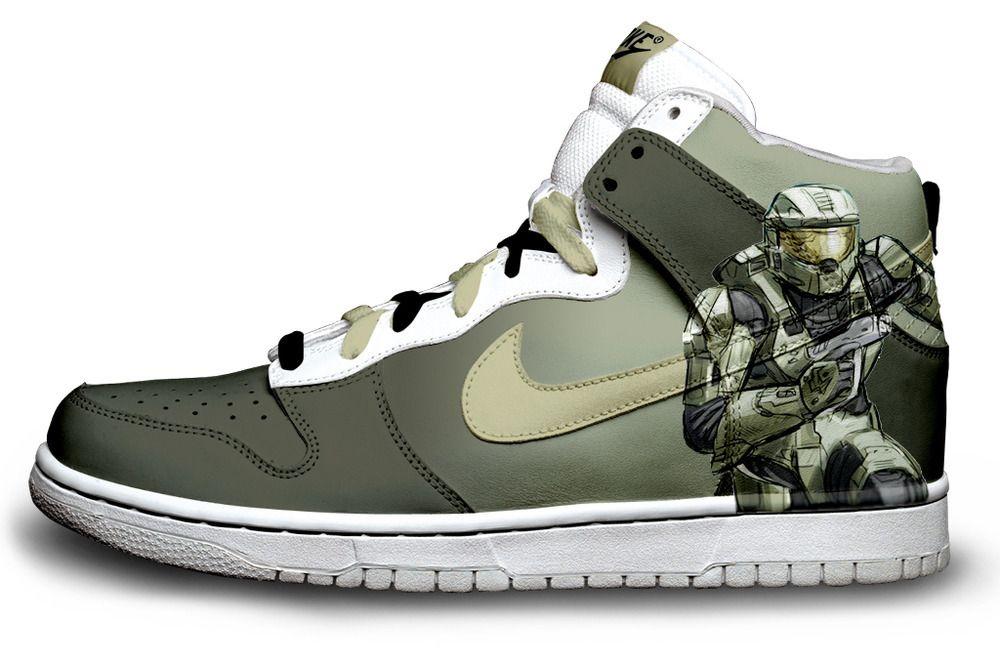 9636e7a52879 Masterchief shoes. So cool.