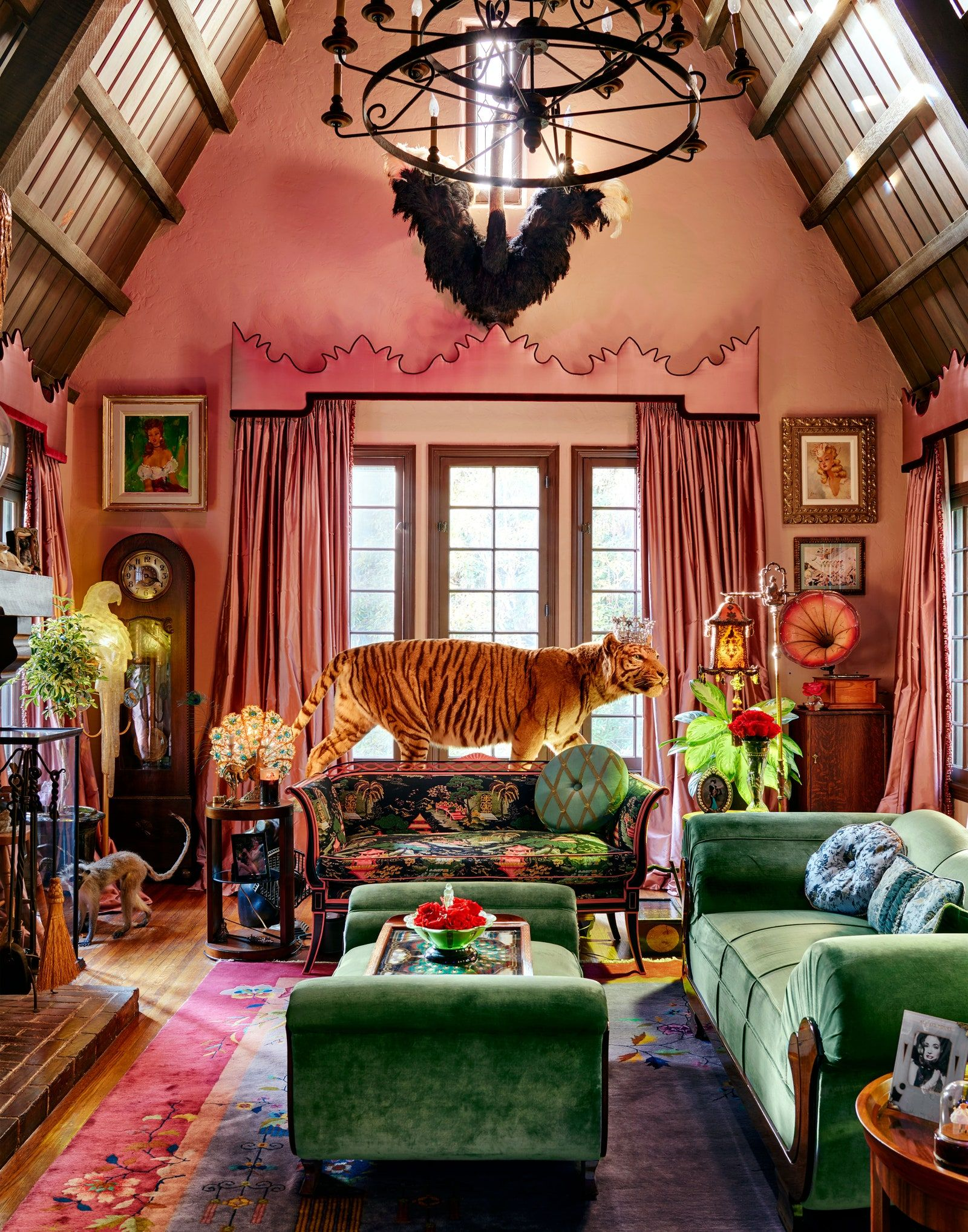 Photo of Step Inside Dita Von Teese's One-of-a-Kind L.A. Home