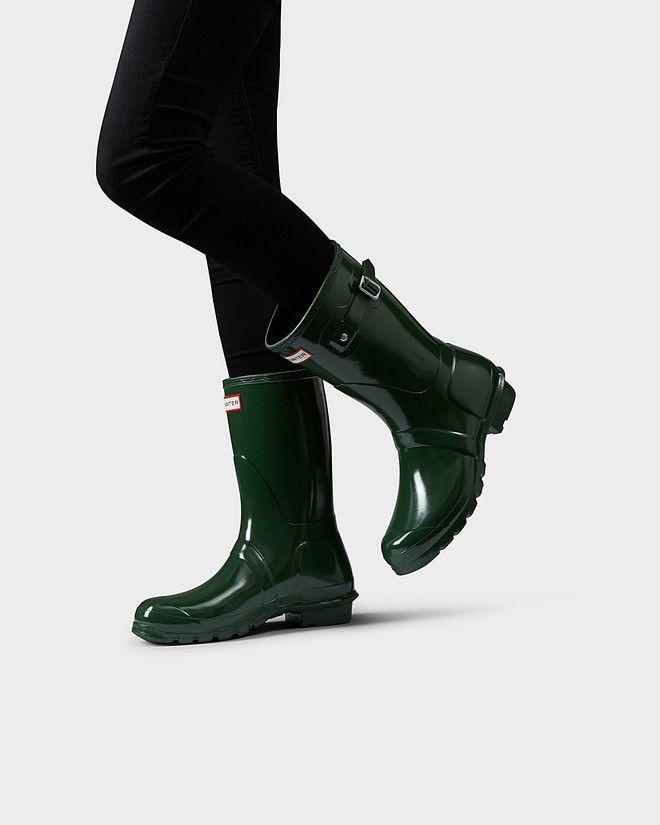 102b93bde80b Women s original short gloss rain boots