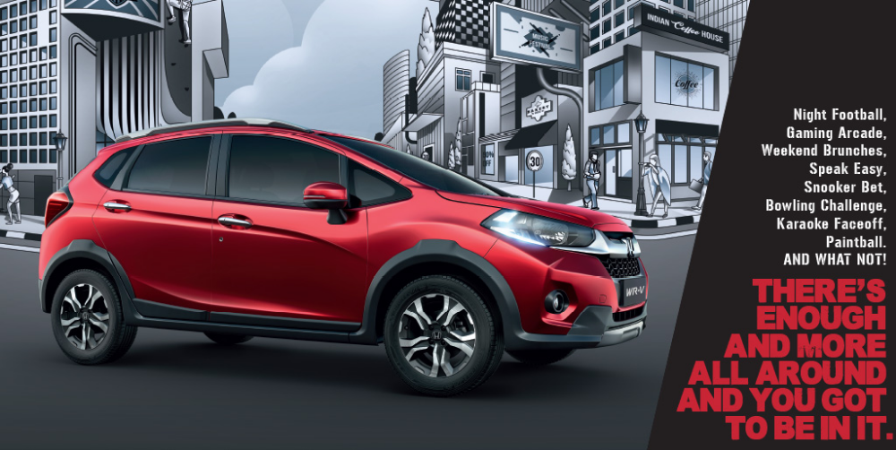 Honda WRV Gets New Refreshing Product V Trim, Features
