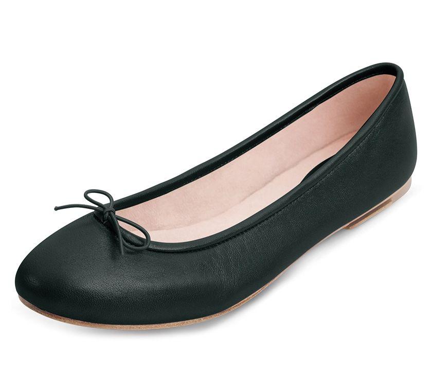 bloch black fonteyn ballet flat shoes mode make up