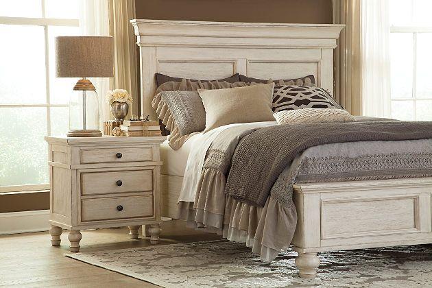 White marsilona nightstand view 6 home is where the - Ashley furniture marsilona bedroom set ...