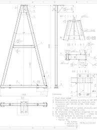 نتيجة بحث الصور عن Frame Gantry Crane Plans Gantry Crane How To Plan Crane