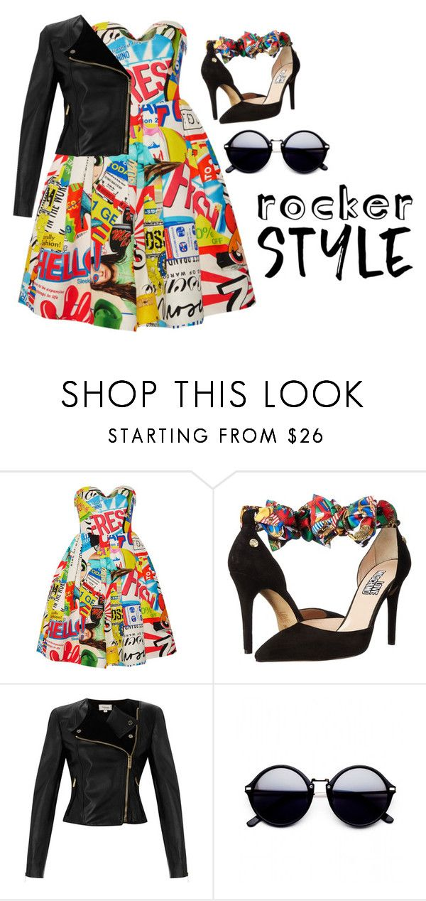 """""""Untitled #48"""" by minhanh-t ❤ liked on Polyvore featuring Moschino, Love Moschino, Temperley London, rockerchic and rockerstyle"""