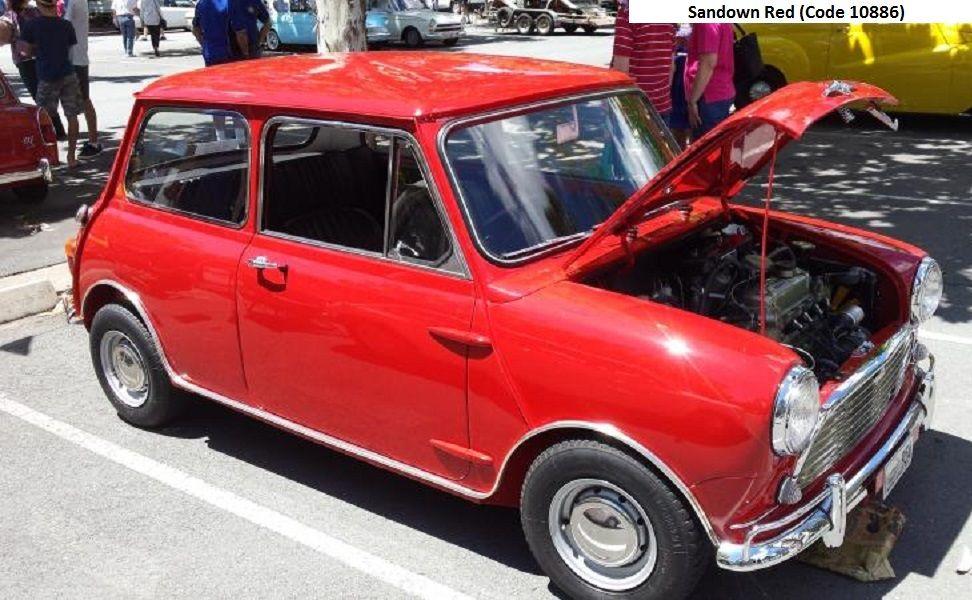 Australian Mk1 Morris Cooper S Sandown Red Mini Cooper S Mini Cars Mini